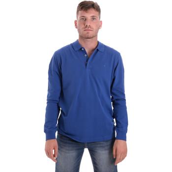 Kleidung Herren Langärmelige Polohemden Navigare NV82109 Blau