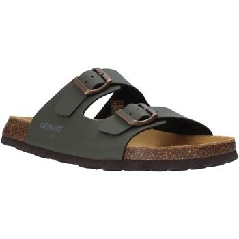 Schuhe Herren Pantoffel Grunland CB3012 Grün