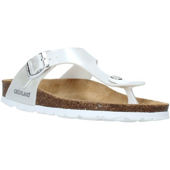 Schuhe Kinder Zehensandalen Grunland CB2419 Weiß