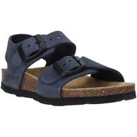 Schuhe Kinder Sandalen / Sandaletten Grunland SB0205 Blau