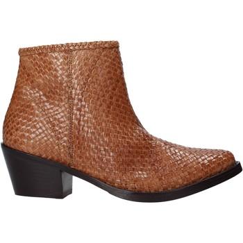 Schuhe Damen Low Boots Marco Ferretti 172883MF Braun