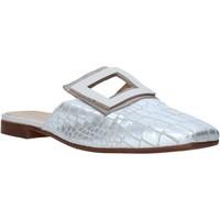 Schuhe Damen Pantoletten / Clogs Mally 6886 Silber