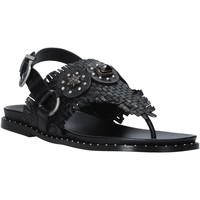 Schuhe Damen Sandalen / Sandaletten Mally 6562 Schwarz