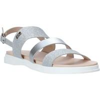 Schuhe Mädchen Sandalen / Sandaletten Miss Sixty S20-SMS766 Silber