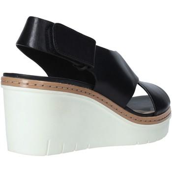 Clarks 26141167 Schwarz - Schuhe Sandalen / Sandaletten Damen 5995