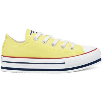 Schuhe Kinder Sneaker Low Converse 668283C Gelb