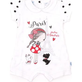 Kleidung Kinder Overalls / Latzhosen Melby 20P7021 Weiß
