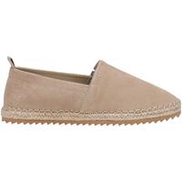 Schuhe Damen Leinen-Pantoletten mit gefloch Docksteps DSE106386 Beige