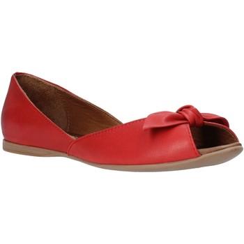 Schuhe Damen Ballerinas Bueno Shoes N0712 Rot