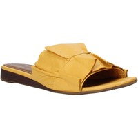 Schuhe Damen Pantoffel Bueno Shoes N1908 Gelb