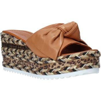 Schuhe Damen Pantoffel Bueno Shoes N3604 Braun