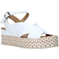 Schuhe Damen Sandalen / Sandaletten Bueno Shoes Q5901 Weiß