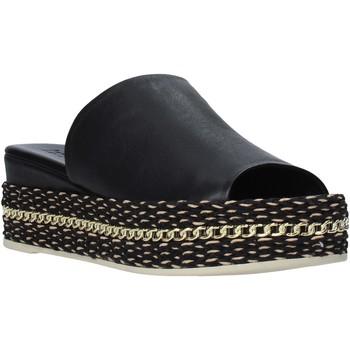 Schuhe Damen Pantoffel Bueno Shoes Q5905 Schwarz