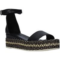 Schuhe Damen Sandalen / Sandaletten Bueno Shoes Q5908 Schwarz