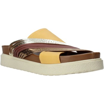 Schuhe Damen Pantoffel Bueno Shoes CM2206 Gelb
