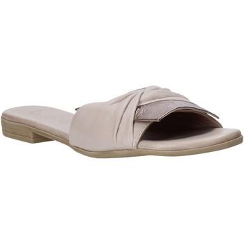 Schuhe Damen Pantoffel Bueno Shoes 9L2735 Beige