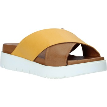 Schuhe Damen Pantoffel Bueno Shoes 9N3408 Gelb
