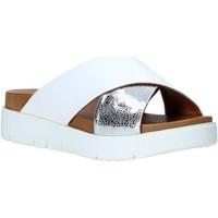 Schuhe Damen Pantoffel Bueno Shoes 9N3408 Weiß