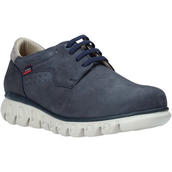Schuhe Herren Sneaker Low CallagHan 12910 Blau