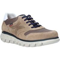 Schuhe Herren Sneaker Low CallagHan 12912 Braun