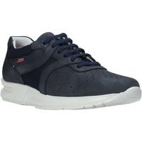 Schuhe Herren Sneaker Low CallagHan 91313 Blau