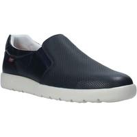 Schuhe Herren Slip on CallagHan 43701 Blau