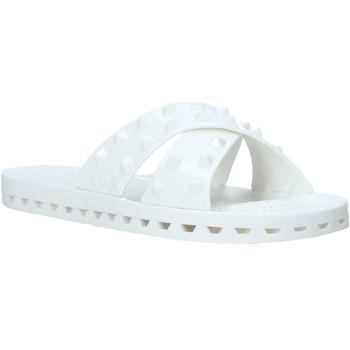Schuhe Damen Pantoffel Sensi 4300/PY Weiß