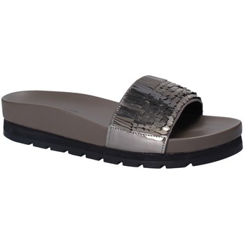 Schuhe Damen Pantoletten Apepazza MMI02 Grau