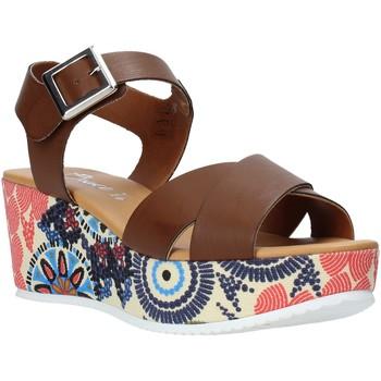 Schuhe Damen Sandalen / Sandaletten Grace Shoes 12 Braun