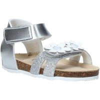 Schuhe Mädchen Sandalen / Sandaletten Grunland SB1545 Silber