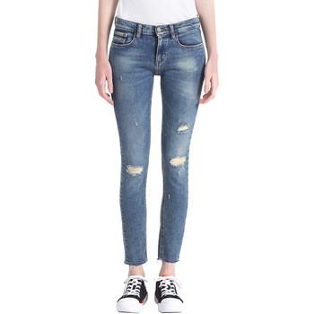 Kleidung Damen Boyfriend Jeans Calvin Klein Jeans J20J207110 Blau