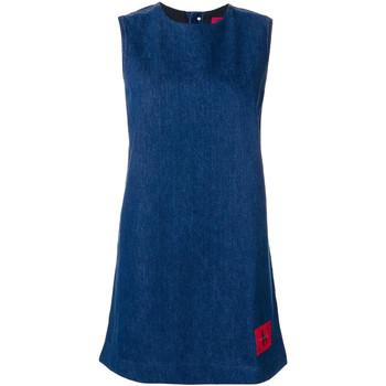 Kleidung Damen Kurze Kleider Calvin Klein Jeans J20J207406 Blau