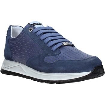 Schuhe Herren Sneaker Low Exton 751 Blau