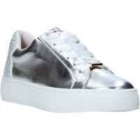 Schuhe Damen Sneaker Low Love To Love TER32 Silber