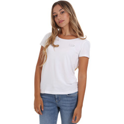 Kleidung Damen T-Shirts Ea7 Emporio Armani 8NTT64 TJ28Z Weiß