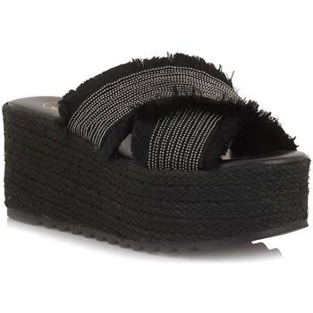 Schuhe Damen Pantoffel Exé Shoes G47006247001 Schwarz