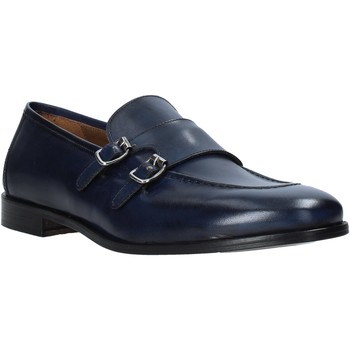 Schuhe Herren Slipper Rogers 1016_5 Blau