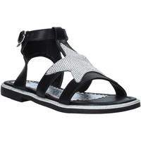 Schuhe Mädchen Sandalen / Sandaletten Joli JT0082S Schwarz