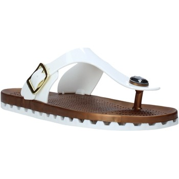 Schuhe Damen Zehensandalen Sensi 4050/P Weiß