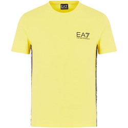 Kleidung Herren T-Shirts Ea7 Emporio Armani 3HPT07 PJ03Z Gelb
