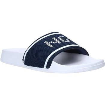 Schuhe Herren Pantoletten Navigare NAM010005 Blau