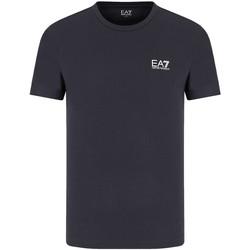 Kleidung Herren T-Shirts Ea7 Emporio Armani 8NPT51 PJM9Z Blau