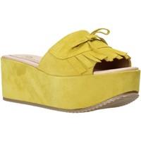 Schuhe Damen Pantoffel Grace Shoes C3 Gelb