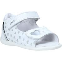 Schuhe Mädchen Sandalen / Sandaletten Melania ME0820A0S.A Silber