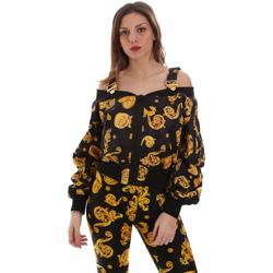 Kleidung Damen Sweatshirts Versace C0HVB932S0774899 Schwarz