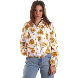 Kleidung Damen Sweatshirts Versace C9HVB92525115003 Weiß