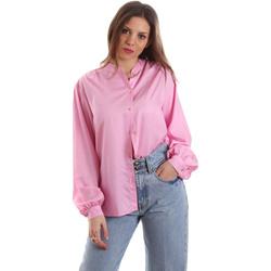 Kleidung Damen Hemden Versace B0HVB62307619445 Rosa