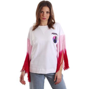 Kleidung Damen T-Shirts Versace B2HVB71511701003 Weiß