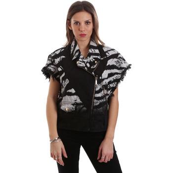 Kleidung Damen Jacken Versace C0HVB92DHRC5X899 Schwarz
