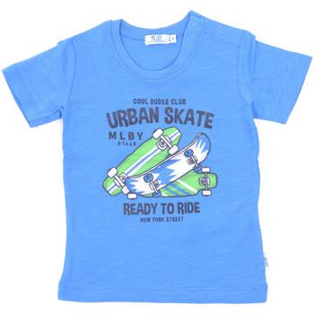 Kleidung Kinder T-Shirts Melby 20E7370 Blau